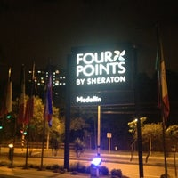 Photo taken at Four Points by Sheraton Medellin by Fernando M. on 3/1/2013