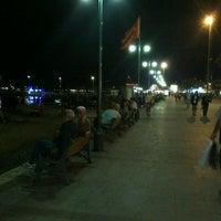 Photo taken at Akçay Kordon by Aslı s. on 9/3/2013