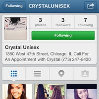 Photo taken at Crystal's Unisex Salon by Christina H. on 6/19/2013