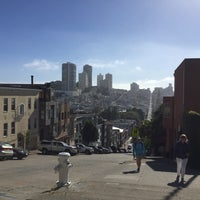 Photo taken at Telegraph Hill by Virginia O. on 7/11/2017