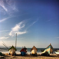 Photo taken at Praia de Itapoá by Djessica D. on 4/26/2013