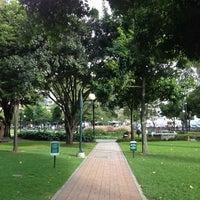 Photo taken at Parque de la 93 by JuanKi D. on 6/17/2013
