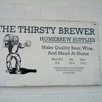 Photo taken at Thirsty Brewer by Eric L. on 1/20/2013