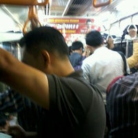 Photo taken at KRL Commuter Line Tn Abang - Parung Panjang by Nana K. on 6/12/2013