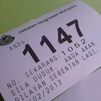 Photo taken at Immigration Department (Jabatan Imigresen) Presint 14 Branch by Naeem F. R. on 2/23/2013