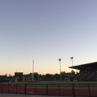 Photo taken at Hayward Field by Ryan S. on 8/16/2017