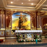 Photo taken at St. Francis of Assisi Parish Church by Macy B. on 1/27/2013