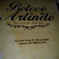 Photo taken at Boteco do Arlindo by Sofia A. on 12/21/2012
