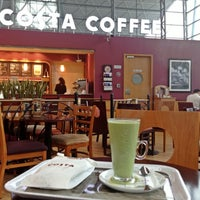Photo taken at Costa Coffee (咖世家) by Sylvia M. on 4/23/2013