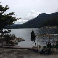 Photo taken at Pandu Hotel Lakeside Parapat by Sylvia M. on 9/30/2014