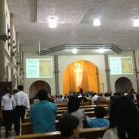 Photo taken at Igreja São Sebastião by Charles B. on 3/17/2013