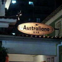 Photo taken at Australiano Bar by Osmar G. on 7/7/2013