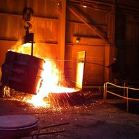 Photo taken at Columbia Steel Casting Co., Inc. by Alan G. on 1/2/2014