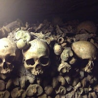 Photo taken at Catacombs of Paris by Riley B. on 3/17/2013