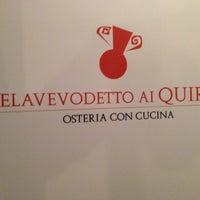Foto scattata a Velavevodetto ai Quiriti da Michael H. il 5/8/2013
