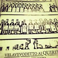 Foto scattata a Velavevodetto ai Quiriti da Michael H. il 5/1/2013