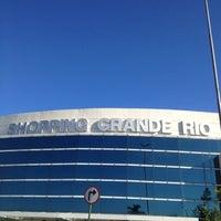 Foto tirada no(a) Shopping Grande Rio por Lynho Winchester Guerra d. em 3/3/2013