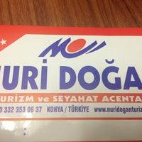 Photo taken at Nuri Doğan Turizm by Mehmet A. on 6/19/2013