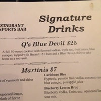 Photo taken at Q Restaurant & Sports Bar by Leah L. on 11/17/2013