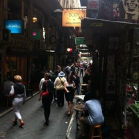 Photo taken at Degraves Street by Michael N. on 3/18/2012