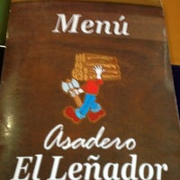 Photo taken at Asadero El Leñador by Joaquin V. on 2/8/2013