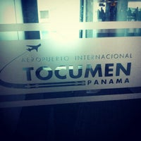 Photo taken at Tocumen International Airport (PTY) by Giancarlo M. on 12/17/2012