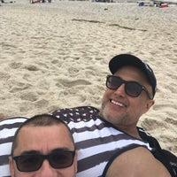 Photo taken at Fire Island Pines Beach by Sergio R. on 7/4/2018