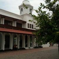 Photo taken at Masjid Agung Al-Falah by khairul u. on 1/19/2014