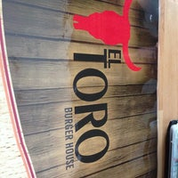 Photo taken at EL TORO Burger House by Mert K. on 7/6/2013