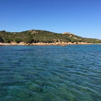 Photo taken at Cala di Volpe by Cenk B. on 7/21/2016