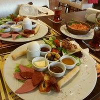 Photo taken at Symbol Cafe & Restaurant by Birgül A. on 4/21/2013