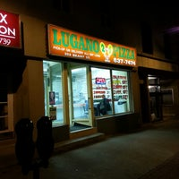 Photo taken at Lugano 2 For 1 Pizza by colin c. on 6/5/2013