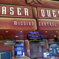 Photo taken at Laser Quest by colin c. on 3/29/2013