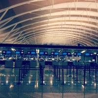 Photo taken at T2 Shanghai Pudong Int'l Airport by Igor V. on 12/28/2012