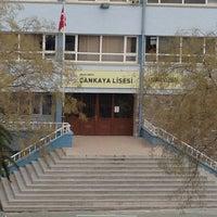 Photo taken at Çankaya Anadolu Lisesi by ZEKİ EĞİTİM VE  HOŞDERE ETÜT M. on 1/7/2013