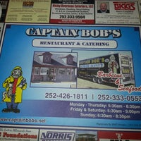 Photo taken at Captain Bobs BBQ & Seafood Restaurant by Jonathan N M. on 7/16/2013