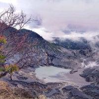 Photo taken at Gunung Tangkuban Parahu by Chie S. on 3/11/2014