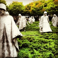 Photo taken at Korean War Veterans Memorial by Rachel G. on 10/8/2012