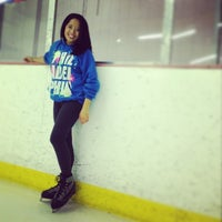 Photo taken at Oak Park Ice Arena by Rachel G. on 7/17/2014