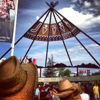 Photo taken at Stampede Park by Rachel G. on 7/16/2013