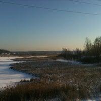 Photo taken at Нарские пруды by AlexVal *. on 12/23/2012