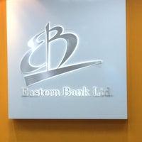 Photo taken at Eastern Bank Ltd- Dhanmondi Branch by Zubair A. on 3/22/2015