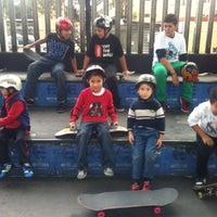 Photo taken at Skate Park by Karen M. on 10/26/2013