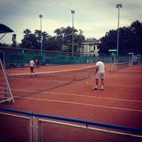 Photo taken at Lawn Tennis Club by Nastya P. on 9/13/2013