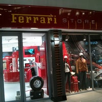 Photo taken at Ferrari Store by Roger F. on 5/25/2013