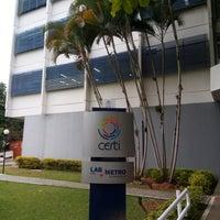 Photo taken at Fundação CERTI by Roger F. on 7/27/2018