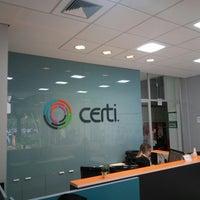 Photo taken at Fundação CERTI by Roger F. on 6/20/2017