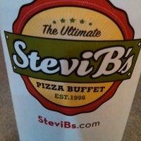 Photo taken at Stevi B's Pizza Buffet by Idaliz G. on 3/18/2013