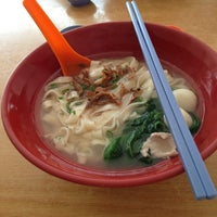 Photo taken at QQ Pan Mee & Ramen Restaurant by Vincent L. on 7/4/2013