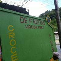 Photo taken at De Freitas Supermarket Ltd by Jerwyn D. on 4/2/2013